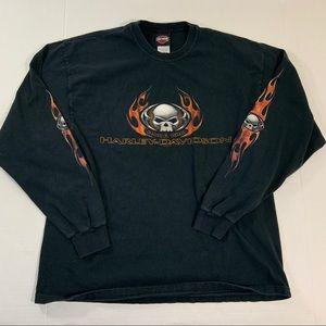 Harley Davidson Colorado Logo Long Sleeve Shirt XL